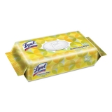 Disinfecting Wipes Flatpacks, 6.75 x 8.5, Lemon and Lime Blossom, 80 Wipes/Flat Pack, 6 Flat Packs/Carton